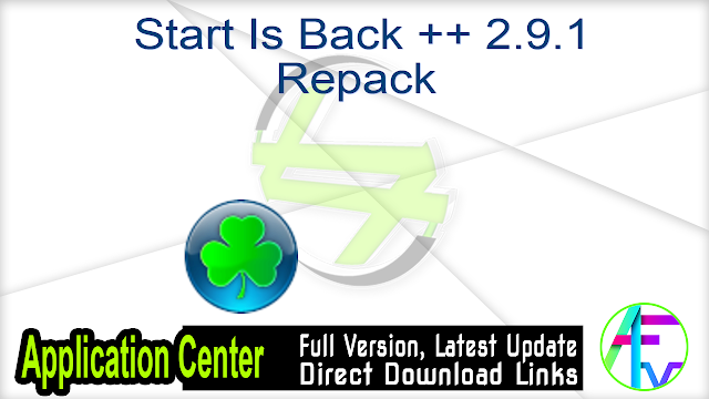 Start Is Back ++ 2.9.1 Repack