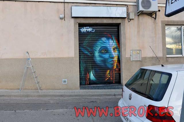 graffiti persiana película Avatar