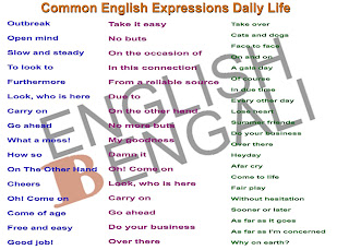 Common English Expressions Daily Life