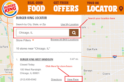 Burger King Locations
