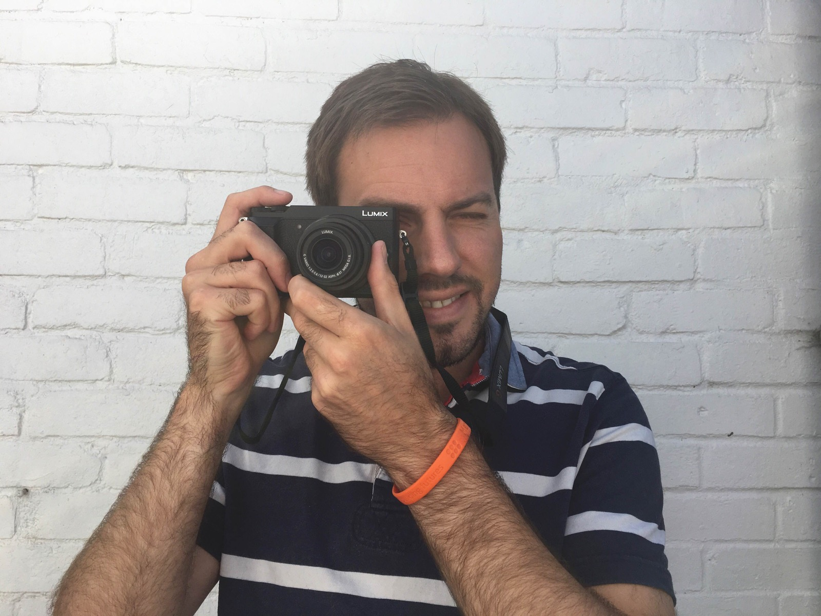 Simon with the Panasonic Lumix GX80