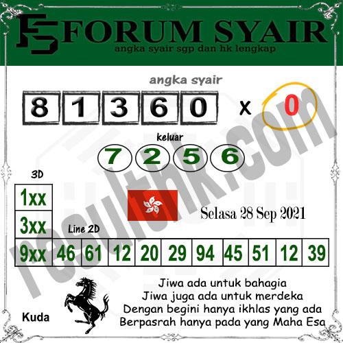 Forum syair hk Selasa 28 September 2021