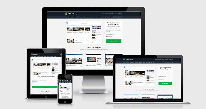 Theme-shop Grid Responsive Blogger Template