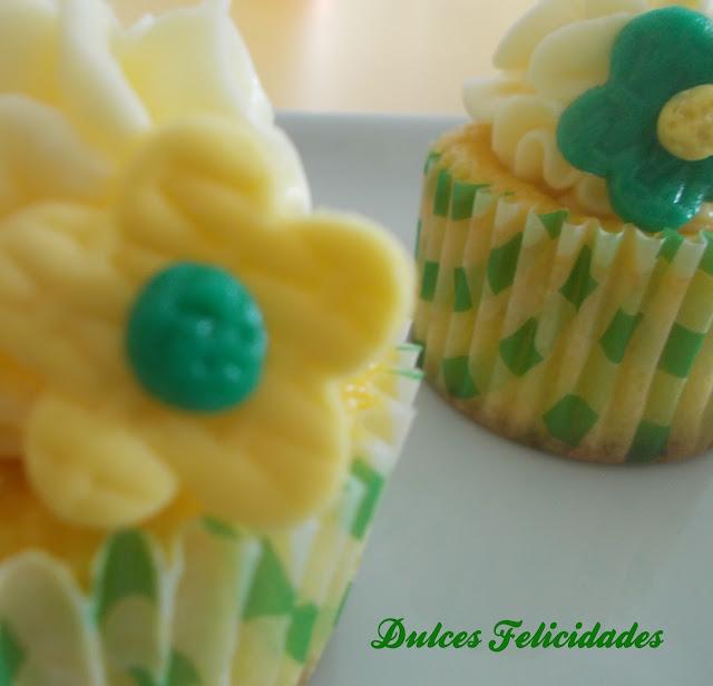 Cupcakes de melón