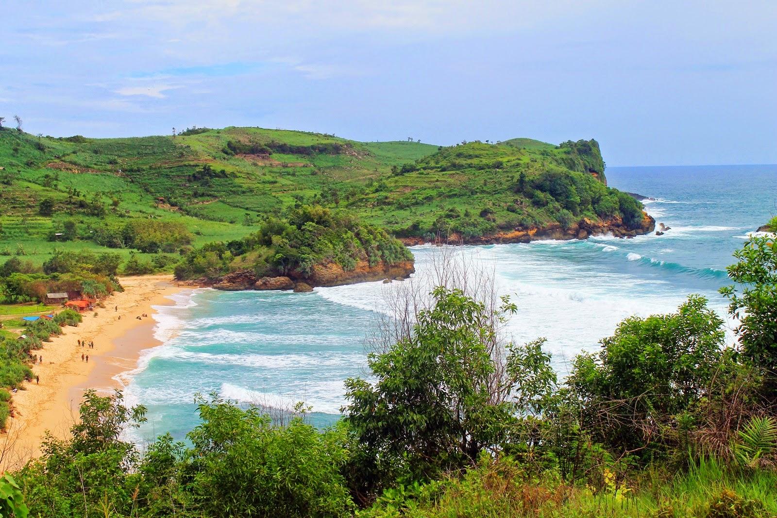 Pantai Tambakrejo Blitar Wisata Indonesia
