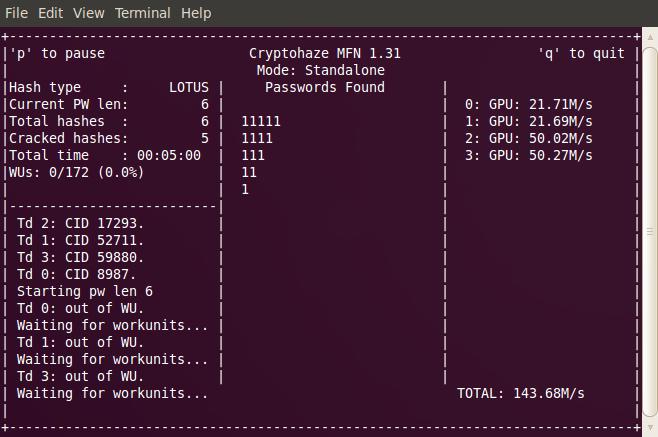 Cryptohaze Blog: 2012