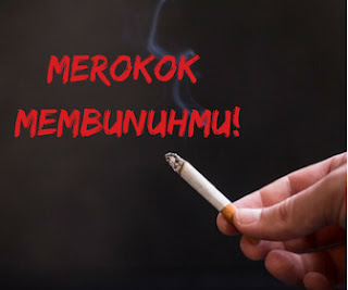 """Contoh Gambar Slogan Kesehatan """"Merokok Membunuhmu"""""""