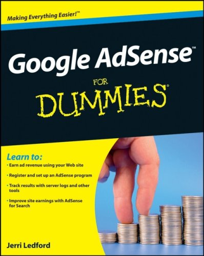 Google AdSense FOR DUMmIES by Jerri Ledford