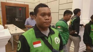 Ditendang Polisi Saat Pengamanan Jokowi, Begini Pengakuan Sang Driver Ojol