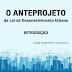 O Anteprojeto da Lei de Desenvolvimento Urbano - INTRODUÇÃO