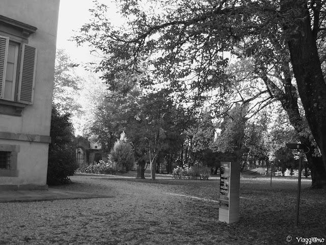 Il parco di Villa Bottini di Lucca