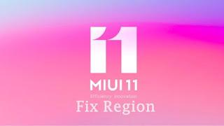 Cara Fix Region Rom Miui 11 Terbaru