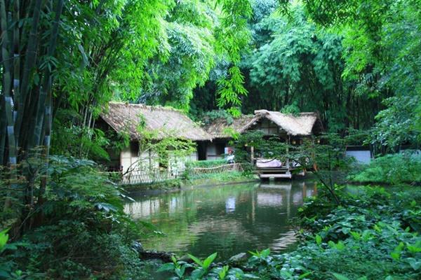 กระท่อมฟางตู้ฝู (Du-Fu Thatched Cottage)
