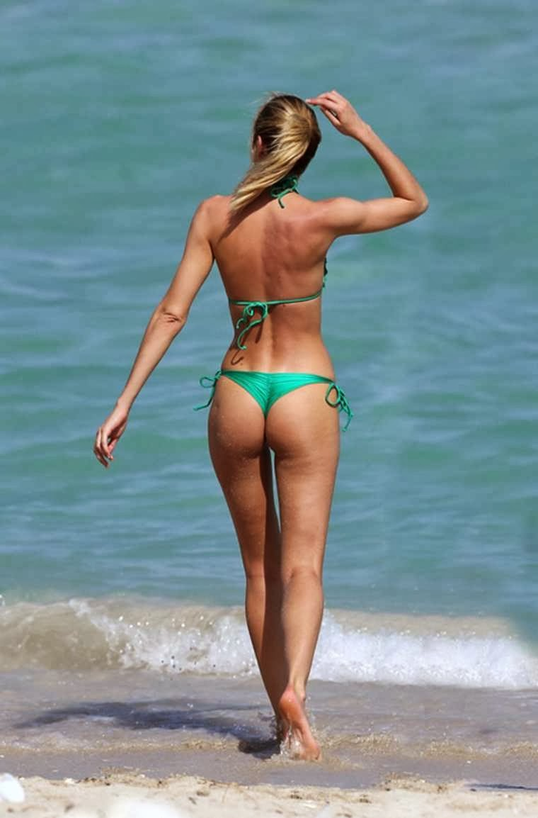 beach Candice swanepoel topless