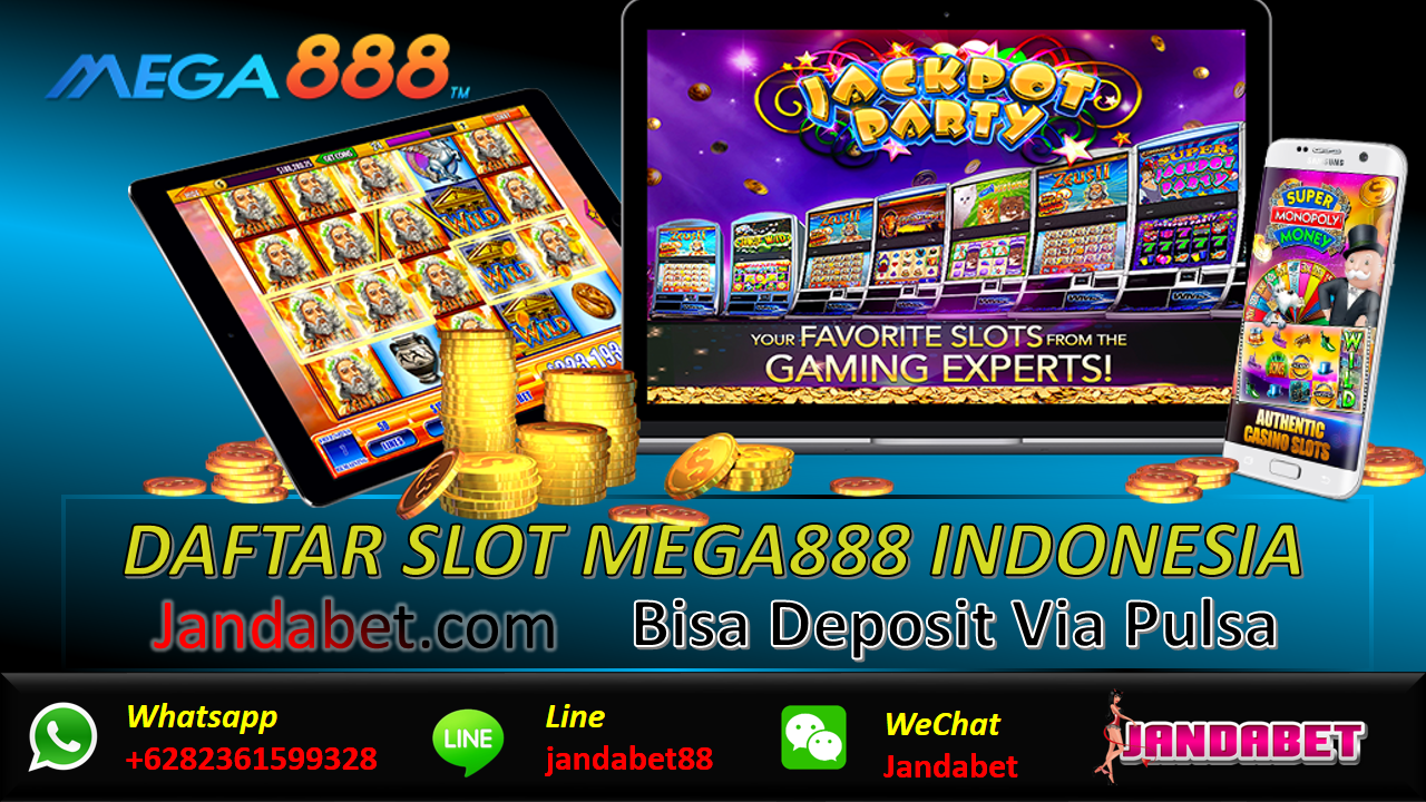AGEN SLOT MEGA888: CARA DAFTAR SLOT MEGA888 Indonesia