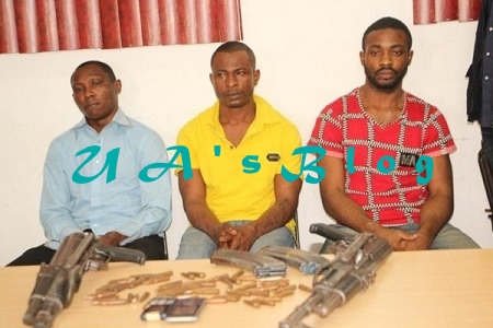 Notorious Armed Robbers Who Attacked Ibrahim Magu's Abuja Farm Nabbed By The Police (Photo)
