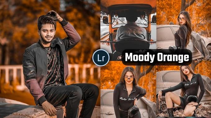Moody Orange Presets free Download