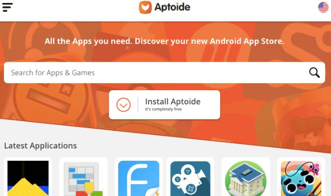 Website Teraman tuk Download APK Android - Aptoide