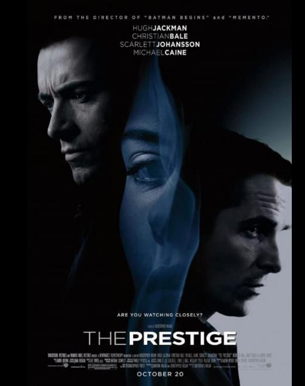 The Prestige 2006 x264 720p Esub BluRay Dual Audio English Hindi THE GOPI SAHI