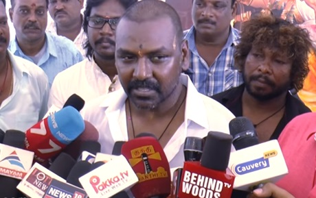 Raghava Lawrence's temple for his mom and Unveil His Mother's Statue | Latest Speech | Mothers Day