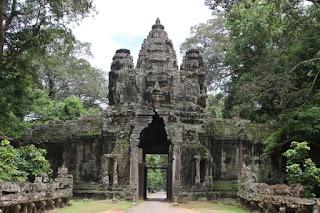 Gopura del templo de Preah Khan.