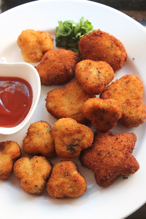 Chicken Nuggets Recipe Shaped Chicken Nuggets For