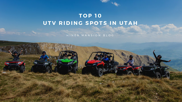 The Top 10 UTV Riding Areas in Utah blog cover image