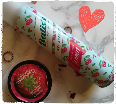 champu batiste cereza manteca the body shop fresa