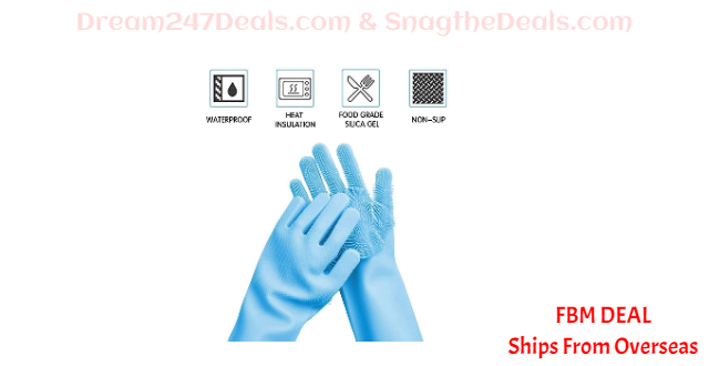 80%  off Silicone Gloves