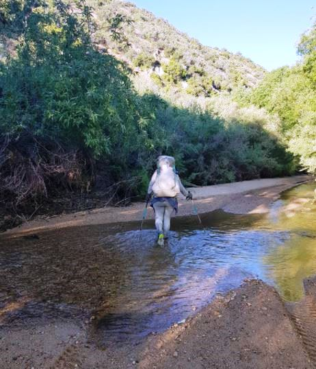 walking the Pacific Crest trail