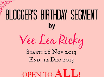 Blogger's Birthday Segment