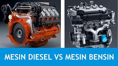 mengapa mesin bensin lebih cepat dibanding mesin diesel Mengapa Mesin Diesel Mempunyai Putaran Maksimum Lebih Rendah Dibanding Mesin Bensin ?
