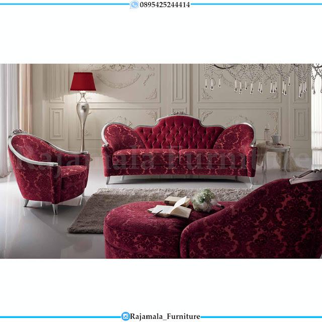 Elegant Set Sofa Tamu Mewah Classic Luxury Furniture Jepara RM-0381