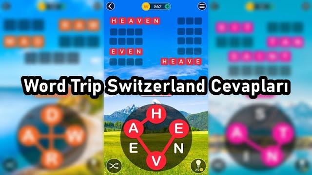 Word Trip Switzerland Cevaplari