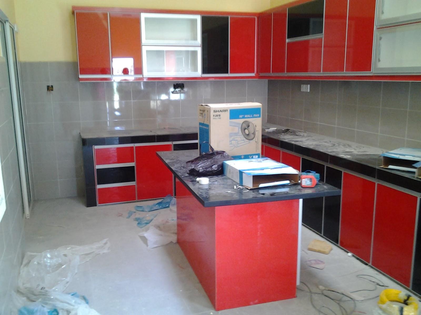 Kitchen Island Untuk Kabinet Dapur Sepanjang 30 Kaki Ini