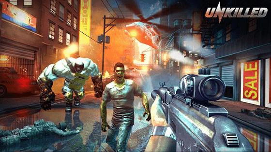 unkilled merupakan game tembak-tembakan zombie