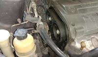 Gambar timing belt pada enjin kereta