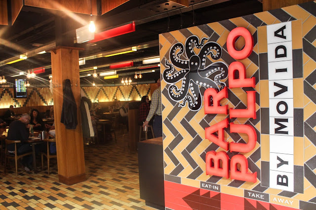 Bar Pulpo by Movida @ Melbourne Airport, Victoria, Australia