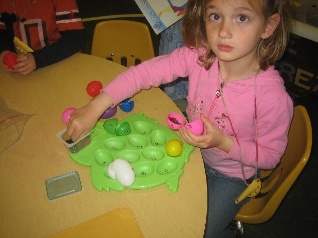 Busse S Busy Kindergarten Easter Theme Math Activities