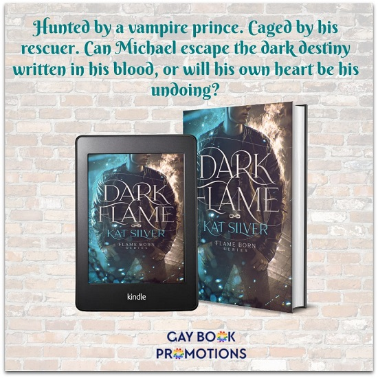 Hunted by a vampire prince. Caged by his rescuer. Can Michael escape the dark destiny written in his blood, or will his own heart be his undoing?