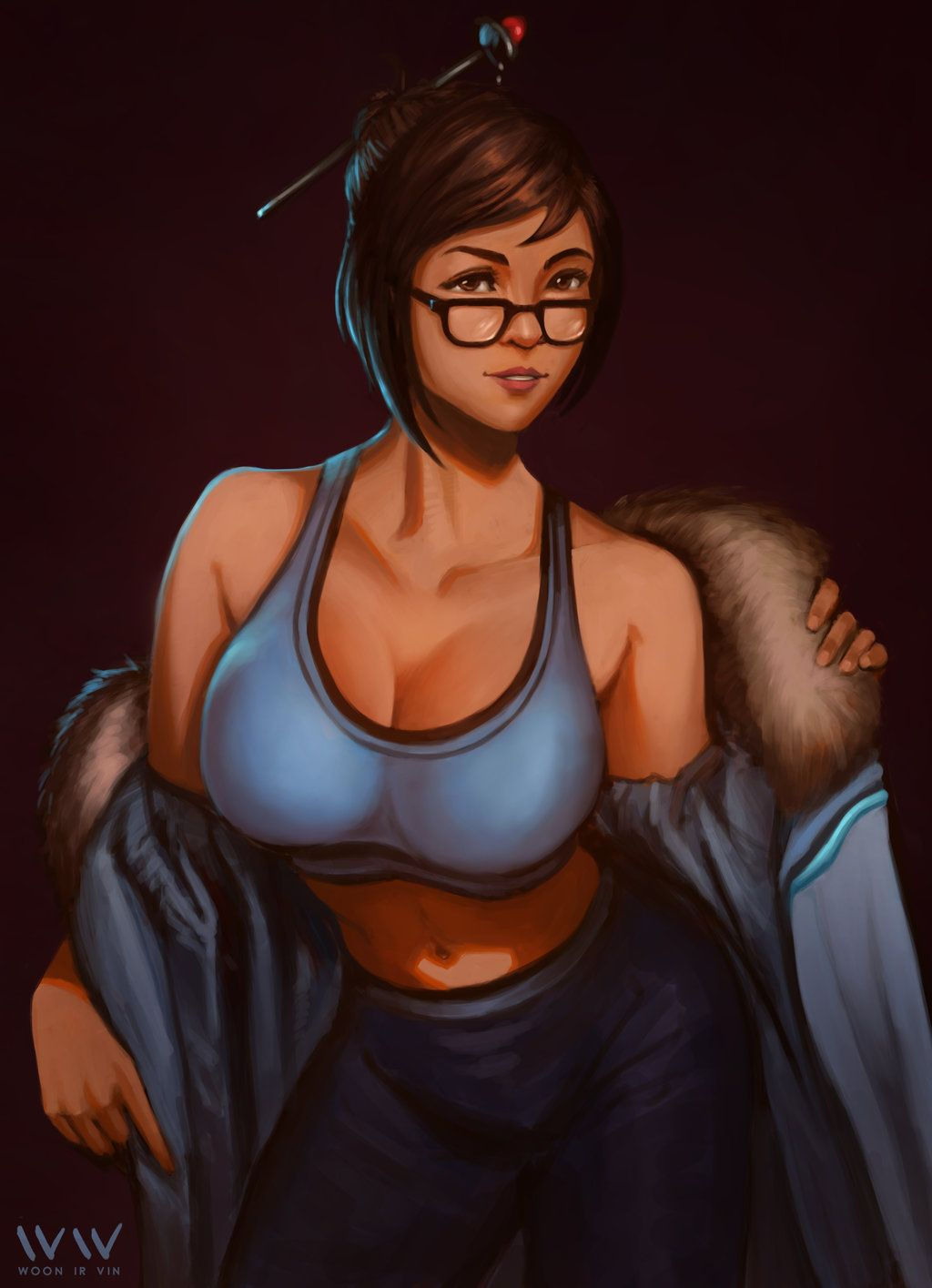 gambar hentai karakter overwatch,mei.animasi porno.foto ngentot,pamer memek,nsfw art,toket gede,chubby