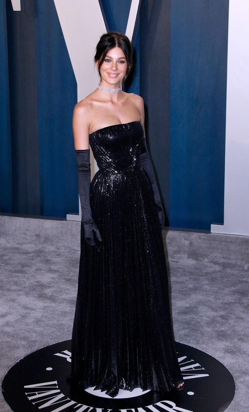 Camila Morrone Clicks at 2020 Vanity Fair Oscar Party in Beverly Hills9 Feb-2020