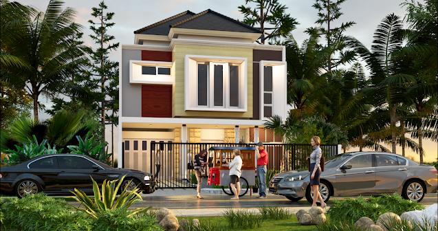the Adenium House, Rumah Megah 2 Lantai