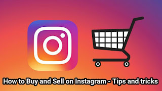How to Buy and Sell on Instagram - Tips and tricks