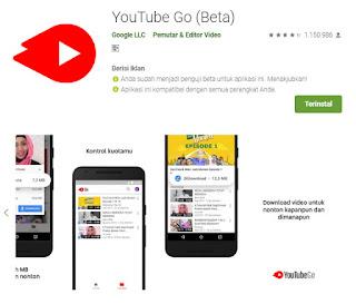 Download video, Aplikasi, Youtube go