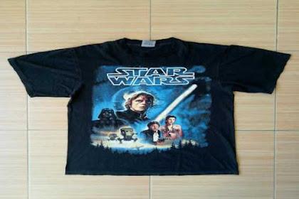Tips Merawat Vintage Star Wars T-Shirt Agar Lebih Awet