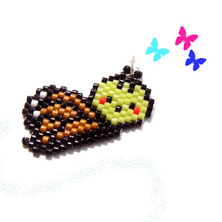 Peyote / Brick Stitch Butterfly