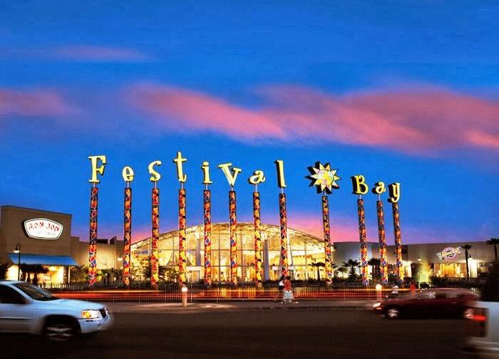 Shopping Festival Bay Mall em Orlando