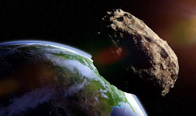 This meteorite fell on Earth about 7 million years ago, destroying everything.