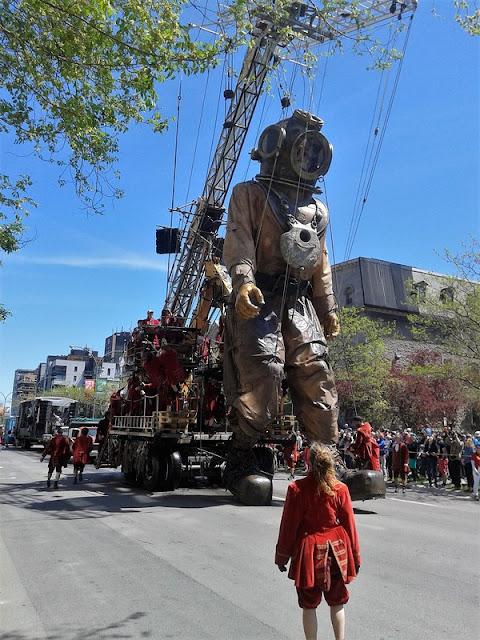 Le Escafandrier en Montreal, Royal de Luxe
